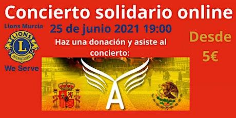 Concierto Solidario Online con los Mariachis Angeles de Calimaya boletos