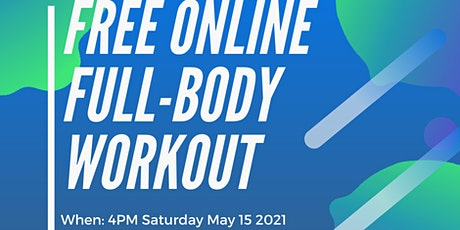 RSBO Free Online Full Body Workout -  May 15 2021 entradas