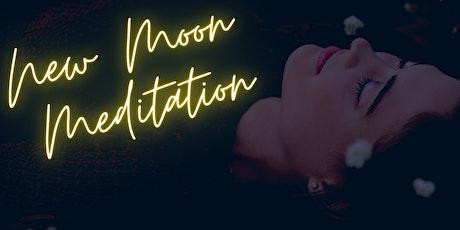 New Moon Meditation, Intention, & Reflection tickets