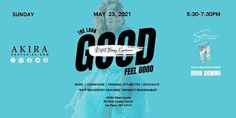 """""""Look Good, Feel Good"""" Retail Therapy Experience + Book Signing tickets"""