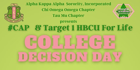 2021 COLLEGE DECISION DAY - STUDENT PANEL DISCUSSION tickets
