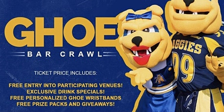 6th Annual GHOE BARCRAWL tickets