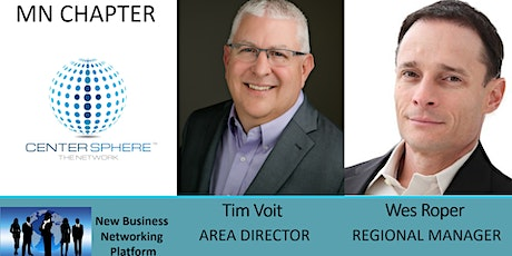 Information Webinar on Center Sphere Business Networking (MN Chapters) tickets
