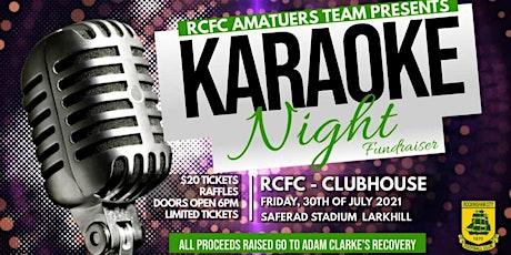 Amateurs Karaoke Fundraiser tickets