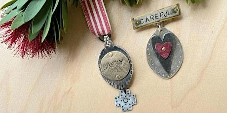 Hidden Treasures - Badges of [Self] Honour Jewellery Making workshop tickets