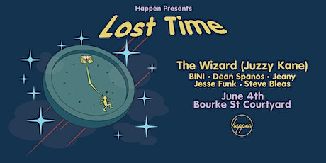 Happen presents Lost Time w/ The Wizard tickets