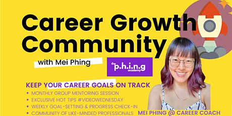 P.H.I.N.G Career Growth Community⚡ Keep Your Career Goals  On Track tickets