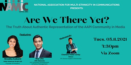 Are We There Yet? The Truth About Authentic AAPI Representation in Media tickets