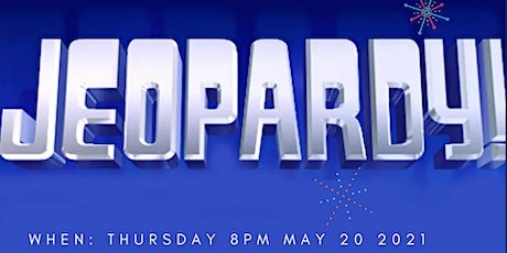 RSBO Jeopardy Trivia Night - May 20 2021 tickets