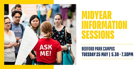 Midyear Information Session 2021 - On Campus tickets