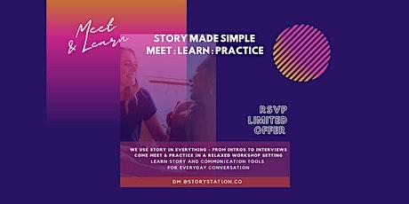 Story Made Simple Class ~ Uluwatu: Learn & Practice tickets