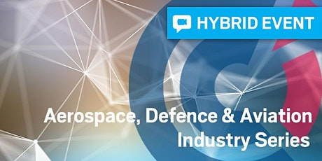 QLD | Impact of Disruptive Technologies on the Aerospace & Defence Sectors tickets