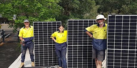 Solar Information Night: free advice on installing rooftop solar tickets