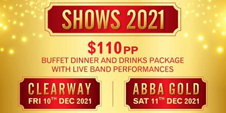 Christmas Dinner Show with Live Band Clearway tickets