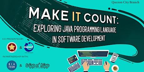 Make IT Count: Exploring Java Programming Language in Software Development tickets