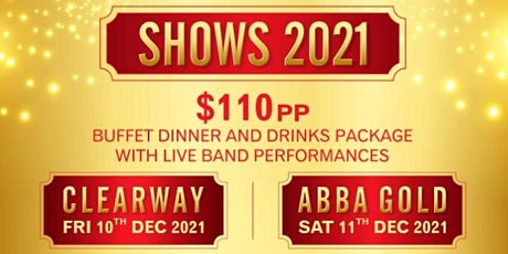 Christmas Dinner Show with Live Band ABBA GOLD tickets