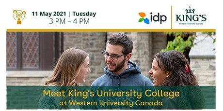 [WEBINAR] King's University College at Western University Canada biglietti