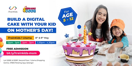 Build a Digital Cake With Your Kid On Mother's Day tickets