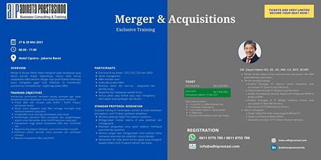 Training Merger and Acquisitions tickets