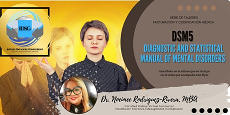 Webinar DSM5 - Diagnostic and Statistical Manual of Mental Disorders tickets