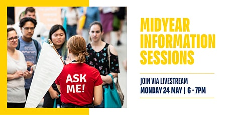 Midyear Information Session 2021 - Livestream tickets