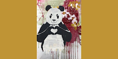 Panda Paint and Sip Party 25.6.21 tickets