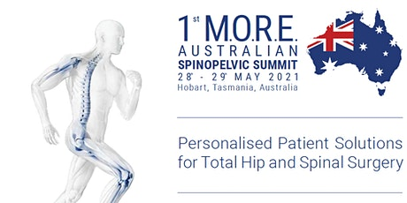 SAVE THE DATE: 1st MORE Australian SpinoPelvic Summit - 28/29th May tickets