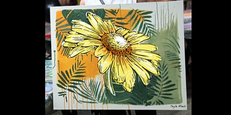 Sunflower Paint and Sip Party 26.6.21 tickets