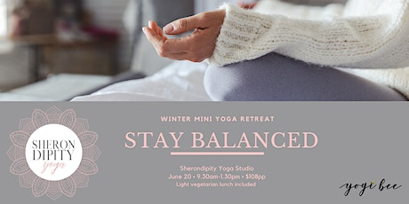 Stay Balanced - Winter Mini Yoga Retreat tickets