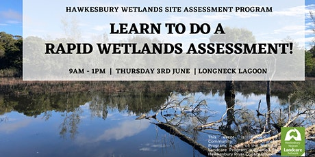 Learn to do a Rapid Wetlands Assessment! tickets