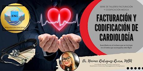 Webinar - Facturación y Codificación de Cardiología tickets