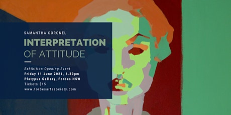 'Interpretation of Attitude' by Samantha Coronel tickets
