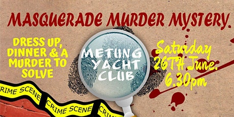 Masquerade Murder Mystery tickets