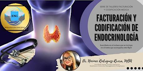 Webinar - Facturación y Codificación de Endocrinología tickets