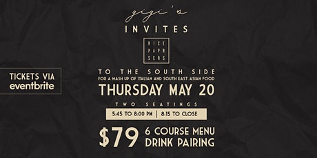 Gigi's Invites: Rice Paper Scissors - A South Side Experience tickets