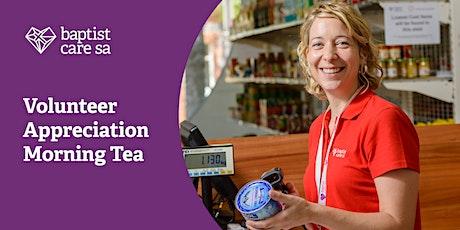 Volunteer Appreciation Morning Tea tickets