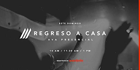 Presencial Iglesia AVA | 1:00 pm entradas