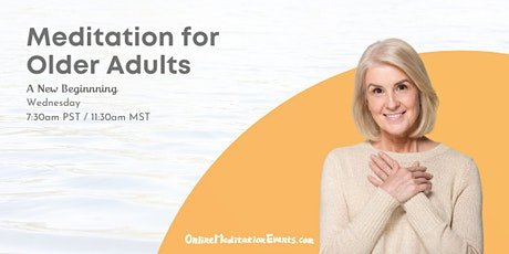 Meditation for Older Adults tickets