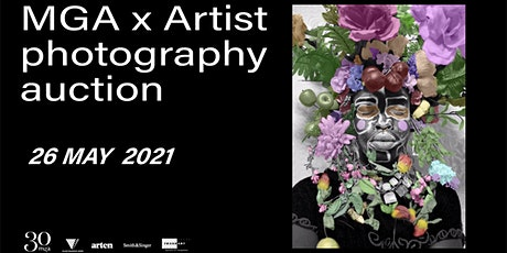 MGA X Artist photography auction tickets