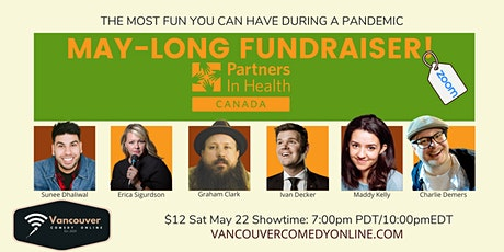 MAY-LONG FUNDRAISER FOR PARTNERS IN HEALTH tickets