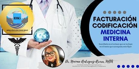 Facturación y Codificación de Medicina Interna tickets