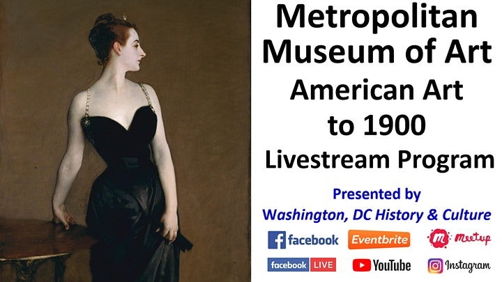 Metropolitan Museum of Art: American Art to 1900 - Livestream Program image