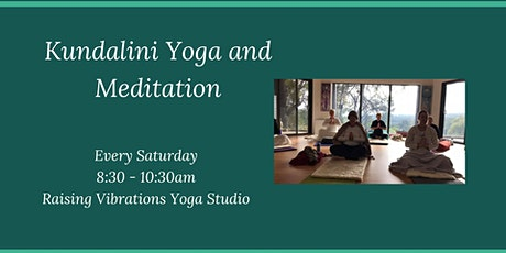 Kundalini Yoga and Meditation tickets