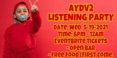 Fergie Baby - AYDV2 Listening Party, Powered by JJ Public Relations tickets