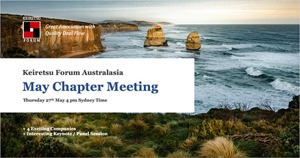 Keiretsu Forum Australasia - May 2021 Face to Face Chapter Meeting tickets