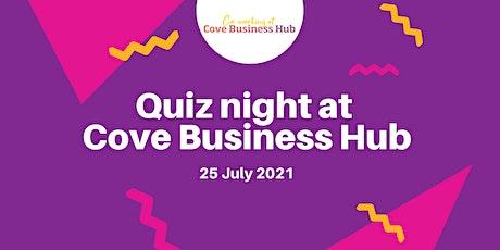 Cove Business Hub Quiz Night tickets
