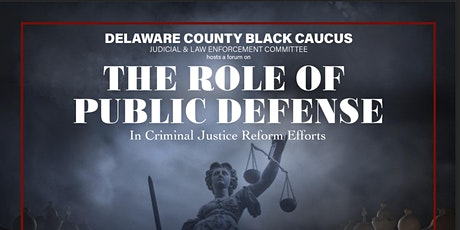 The Role of Public Defense in Criminal Justice Reform tickets