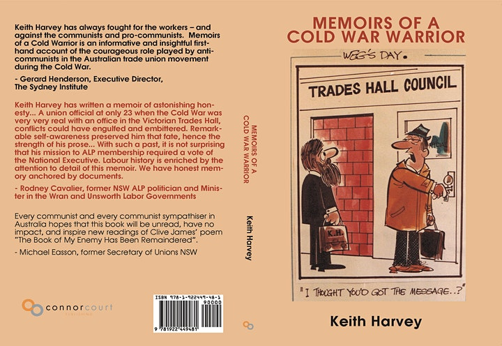 Launch of Memoirs of a Cold War Warrior by Keith H image