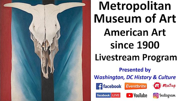 Metropolitan Museum of Art: American Art since 1900 - Livestream Program image