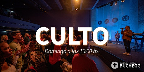Culto a las 18:00hs.  El domingo 9.05.2021 Tickets